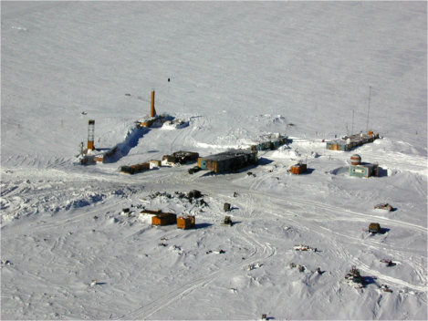 Vostok aerial view